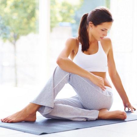 Йогатерапия для позвоночника и суставов