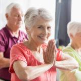 Йога для пожилых людей — класс «Старший возраст» 50+